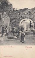 TAORMINA-MESSINA-FONTE DEI P.CAPPUCCINI-CARTOLINA NON VIAGGIATA 1900-1904 - Messina