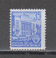 DDR  1953 Mich.Nr.374  XII ** Geprüft Schönherr BPP - Nuevos