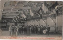 TURKEY CONSTANTINOPLE Collège Etablissement Des Frères De Saint Joseph KADI KEUI N° 19 Fanfare Harmonie Drapeaux - Türkei