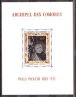Comores - 1973 - Feuillet PA N° 57 - Neuf ** - Pablo Picasso - Comores (1975-...)