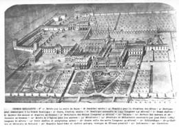 Saint Nicolas Lès Cîteaux (21) - Abbaye De N.D. De Citeaux - Plan Cavalier De L'Abbaye - Other Municipalities