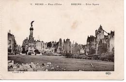 REIMS - PLACE D'ERLON - Reims