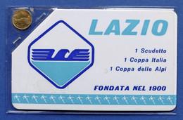 Collezionismo Sportivo Calcio - Lazio - Card Con Medaglia - Non Classificati