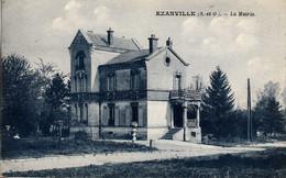 Thematiques 95 Val D'Oise Ezanville La Mairie Timbre Cachet - Ezanville