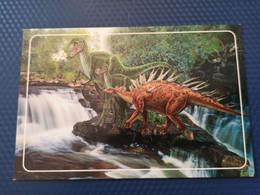 Plesiosaurus , Dinosaur Serie ,  Jurassic Period - Modern Russian Postcard - Altri
