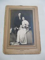 Oude Trouwfoto  Door  Fotograaf  A .  THIENPONT   AALST - Personas Identificadas