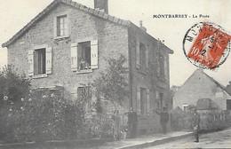 39 - Jura - MONTBARREY - La Poste - - Other Municipalities
