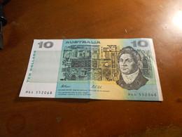 AUSTRALIA   1991   10  DOLLARS   BILLET - 1974-94 Australia Reserve Bank