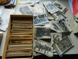 LOT DE 885 CPA ET PETITES CPSMS THEME MILITARIA GUERRE HISTOIRE ILLUSTRATIONS ET CARTES PHOTOS MILITAIRES - 500 Postcards Min.