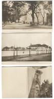 Rixdorf 3 Fotokarten Herrnhuter Brüdergemeinde, Krankenhaus, Richardsplatz Mit Leben Um 1910? - Neukoelln
