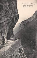 Environs De Vinay Route De Malleval Sortie Des Tunnels - Vinay