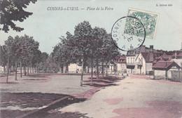 Cosnes-s-l'Oeil - Place De La Foire (colorisée) - Autres Communes