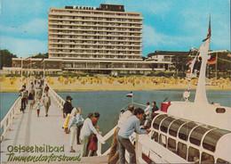 D-23669 Timmendorfer Strand - Ostseebad - Hotel Maritim - Ausflugsdampfer - Nice Stamp - Timmendorfer Strand