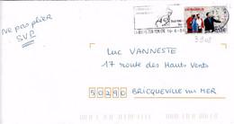 TP N° 3908 Seul Sur Enveloppe De La Roche Sur Yon - 1961-....