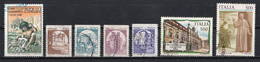 Italie 1988 : Timbres Yvert & Tellier N° 1765 - 1766 - 1767 - 1768 - 1769 - 1770 - 1771 - 1772 - 1773 Et 1774 Oblitérés - 1981-90: Used