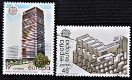 Timbre Edifil  Série Complète   N° 2904et 2905 - 1981-90 Afgestempeld