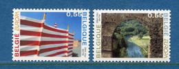 ⭐ Belgique - Europa - YT N° 3278 Et 3279 ** - Neuf Sans Charnière - 2004 ⭐ - 2004
