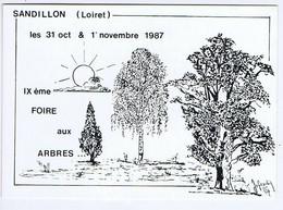 LOIRET -SANDILLON -  Illustrateur JOFRADIN - IXème Foire Aux Arbres - Collector Fairs & Bourses