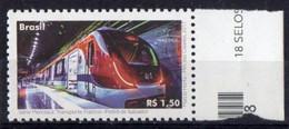 Brazil 2017. El Salvador Metro. Subway Train. Transport. MNH - Unused Stamps