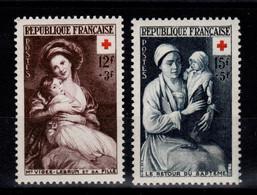 YV 966 & 967 N** Croix Rouge 1953 Cote 23,50 Euros - Neufs
