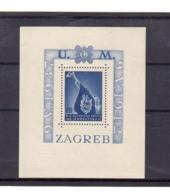 Croatie. BF N°3. Bloc Dentelé Sans Charnière. Gomme. En Souvenir Des Patriotes Croates: 1937 1942. Zagreb. - Croatie
