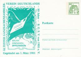 PP 104/91** Ältester Ganzssachensammler Verein Deutschlandsammler - Berliner Ganzsachen-Sammlerverein - Privatpostkarten - Ungebraucht