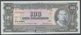Ref. 6697-7203 - BIN BOLIVIA . 1945. BOLIVIA 100 BOLIVIANOS 1945 - Bolivien