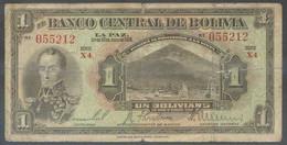Ref. 6658-7164 - BIN BOLIVIA . 1928. BOLIVIA 1 BOLIVIANO 1928 - Bolivia