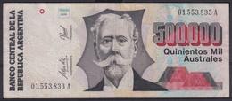 Ref. 6360-6866 - BIN ARGENTINA . 1991. ARGENTINA 1991 500000 AUSTRALES - Argentina