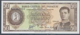 Ref. 5970-6475 - BIN PARAGUAY . 1952. PARAGUAY 1952 50 GUARANIES - Paraguay