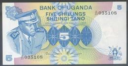 Ref. 4709-5212 - BIN UGANDA . 1977. UGANDA 1977 5 SHILLINGS - Uganda