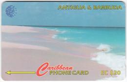ANTIGUA & BARBUDA A-134 Magnetic Cable & Wireless - Landscape, Beach - 17CATC - Used - Antigua Y Barbuda