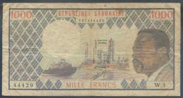Ref. 2389-2812 - BIN GABON . 1984. GABON 1000 FRANCS 1984 - Gabon