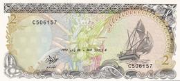 Ref. 1749-2172 - BIN MALDIVES . 1990. MALDIVAS 2 RUFIYAA 1990 - Maldiven