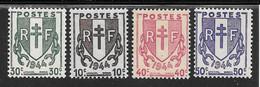 FRANCE N°670/73 ** TB SANS DEFAUTS - Nuovi
