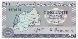Ref. 1557-1979 - BIN RWANDA . 1976. RWANDA 1976 10 FRANCS - Ruanda-Urundi