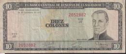 Ref. 1330-1752 - BIN EL SALVADOR . 1976. EL SALVADOR 10 COLONES 1976 - El Salvador