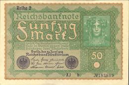 Ref. 1018-1440 - BIN GERMANY . 1919. ALEMANIA 50 FUNFZIG 1919 - Zonder Classificatie