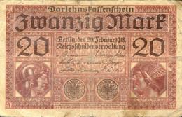 Ref. 1013-1435 - BIN GERMANY . 1918. GERMANY 20  MARK 1918 - Non Classificati