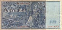 Ref. 1000-1422 - BIN GERMANY . 1910. ALEMANIA GERMANY 100 MARK 1910 - Zonder Classificatie