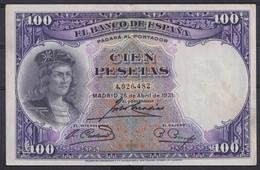 Ref. 413-4445 - BIN SPAIN . 1931. 100 PESETAS 1931 GONZALO HERNANDEZ DE CORDOBA. 100 PESETAS 1931 GONZALO HERNANDEZ DE - 100 Pesetas