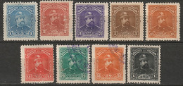 El Salvador 1893 Sc 76-82,84-5  Partial Set MH* Some Disturbed Gum/used - El Salvador