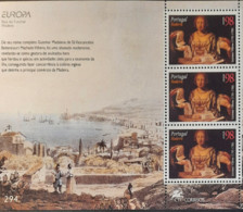 Portugal - 1996 - MNH As Scan - Famous Women - Madeira - Souvenir Sheet Of 3 Stamps - Unused Stamps