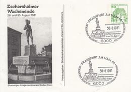 PP 104/103 Eschersheimer Wochenende 29. Und 30. August 1981 - BSV Ffm.-Nord E.V., Frankfurt Am Main - Cartoline Private - Usati