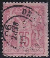 France    .  Y&T    .    81  (2 Scans)   Aminci       .   O     .    Oblitéré - 1876-1898 Sage (Type II)