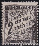 France    .  Y&T    .   Taxe  11          .   O     .    Oblitéré - 1859-1955 Oblitérés