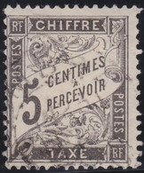 France    .  Y&T    .   Taxe  14       .   O     .    Oblitéré - 1859-1955 Oblitérés
