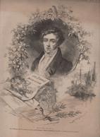 LE MONDE ILLUSTRE 19 06 1875 - BOIELDIEU / SACRE-COEUR / REVUE LONGCHAMP / ROUEN / JARCY PRES BRUNOY / - 1850 - 1899