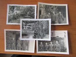 WW2 LE FRANCPORT CHOISY AU BAC COMPIEGNE VILLA LA LORRAINIERE OCCUPEE PAR LES SOLDATS ALLEMANDS - Sonstige Gemeinden