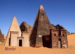 Sudan Meroe Pyramids UNESCO New Postcard - Sudan